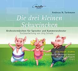 CD-Cover Die drei kleinen Schweinchen